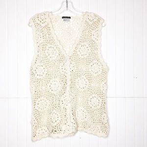 Vintage Sam & Libby   Crochet Vest